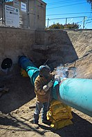 Corps installs new sump station lines for River Park levee (15277035137).jpg