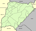 Corrientes province (Argentina), departments and capital.png