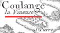Coulange-la-Vineuse carte Cassini.png