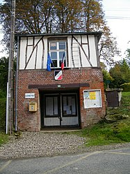 The town hall in Courcelles-sous-Thoix