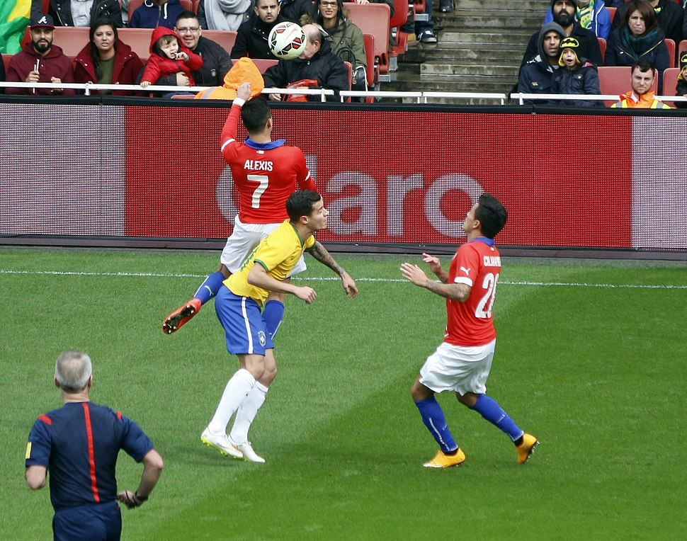 Coutinho Sanchez Brazil vs Chile