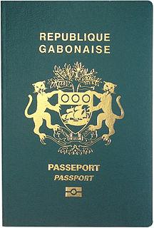 Gabonese passport