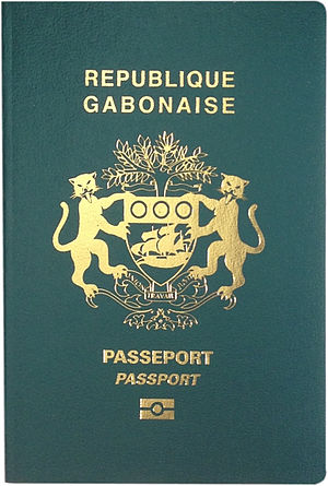 Gabonese passport - Gabonese biometric passport cover