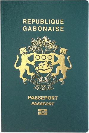 Gabonese passport - Gabonese biometric passport cover