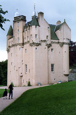 National Trust for Scotland - Craigievar Castle, Aberdeenshire, one of many properties in the care of the charity