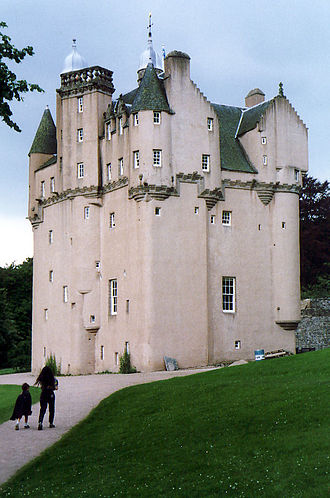 National Trust for Scotland - Craigievar Castle, Aberdeenshire, one of many properties in the care of the charity.