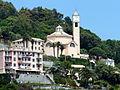 Crevari (Genova)-chiesa di san eugenio-complesso dalla via Aurelia.jpg