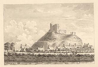 Criccieth - Criccieth Castle, c.1778