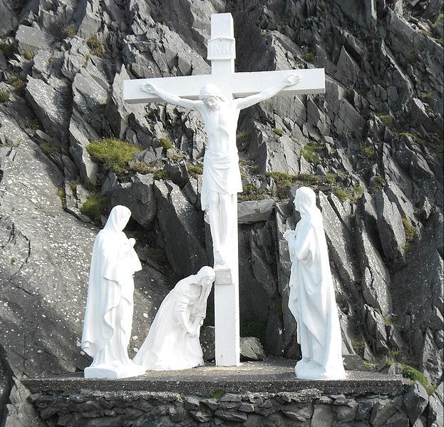 File:Croix à la Péninsule de Dingle.jpg