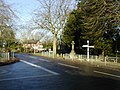 Crossroads in Awbridge - geograph.org.uk - 322570.jpg