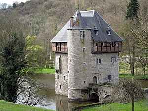 Crupet (Belgium), the tower Carondelet XIIIth century)