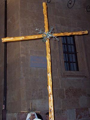 English: Cross of the Brotherhood of Christ of...