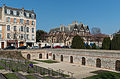 Cryptoportique, Reims, Outside entry area, South view 20140306 1.jpg