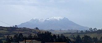 Cordillera Occidental (Colombia) - Cumbal Volcano