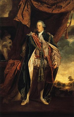 Prince William, Duke of Cumberland - Portrait of William in the robes of the Order of the Garter by Sir Joshua Reynolds, 1758