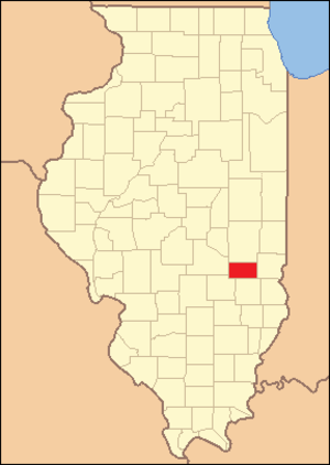 Cumberland County, Illinois - Image: Cumberland County Illinois 1843