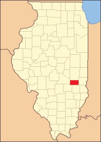 Cumberland County, Illinois - Image: Cumberland County Illinois 1843