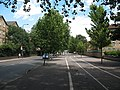 Cycle path alongside Rotherhithe New Road - geograph.org.uk - 1405328.jpg