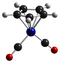 Cyclopentadienylcobalt-dicarbonyl-from-xtal-1992-CM-3D-balls.png