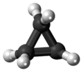 Cyclopropane molecule ball.png