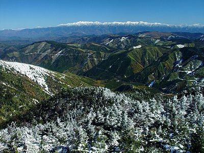 Cyuo-Alps from Kohideyama org 2002-10-30.jpg