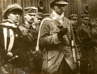 Lenin Boys band of Communist enforcers formed to support the Hungarian Soviet Republic of 1919