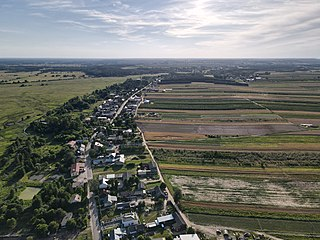 Dębnowola, Gmina Mogielnica Village in Masovian Voivodeship, Poland