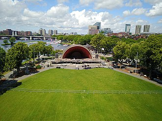 Charles River Esplanade - Image: DCR's hatch Memorial Shell