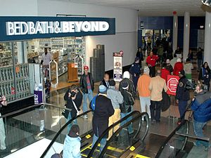 Black Friday (shopping) - DC USA shopping center in Washington, D.C. on Black Friday
