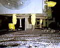 DINING CAR-POST SHOT DAMAGE, NEVADA TEST SITE - DPLA - db9e3bc8365ff4fc7b104aaa51e6440a.jpg