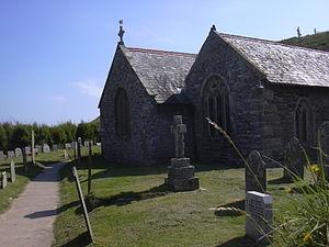 Winwaloe - St Winwaloe's Church, Gunwalloe
