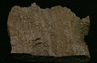 Geology of the Australian Capital Territory - Banded Tuff from the Deakin Volcanics