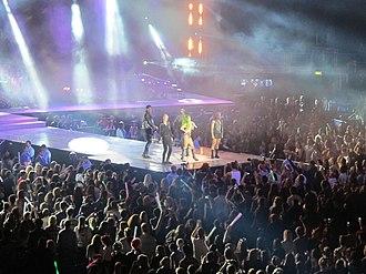 Jingle Bell Ball - Ball headliner Lady Gaga performing on Night 2
