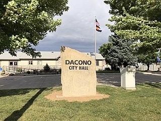 Dacono, Colorado City in Colorado, United States