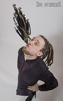 Dai Andrews - Sword Swallower, Escape artist, Fakir.jpg