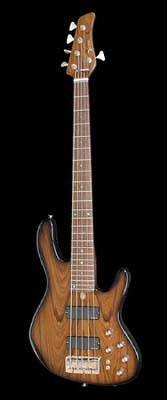 D'Alegria - 5-string D'Alegria Defender JB Deluxe bass