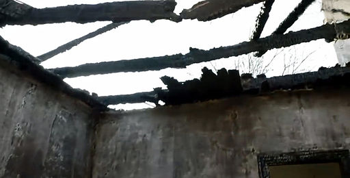 Damaged house on Izotov street in Donetsk, 23 November 2014 (2)