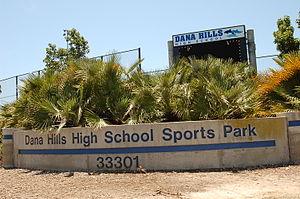 Dana Hills High School - Image: Dana Hills