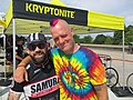 "Daniel Gordon and Kevin ""Squid"" Bolger At 2017 Montreal Cycle Messenger World Championship.jpg"