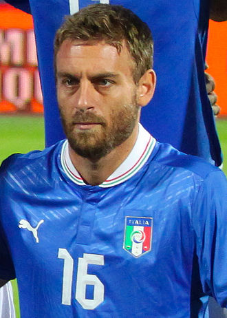 Daniele De Rossi - De Rossi playing for Italy in 2012