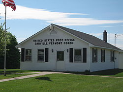 Danville's post office