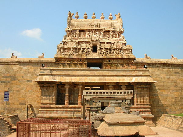 View of Airavateswarar temple - Airavatesvara Temple
