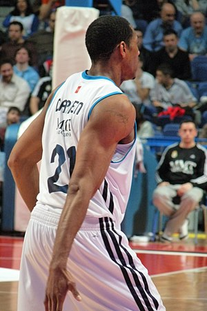 Tremmell Darden - Darden with Real Madrid in 2013.