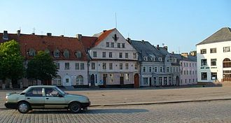 Ozyorsky District, Kaliningrad Oblast - Darkehmen Marketplace, Ozyorsky District