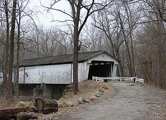 Darlington, Indiana - The Darlington Covered Bridge