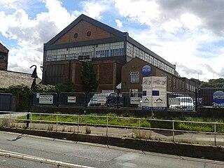Darnall Works former steelworks in Sheffield in England