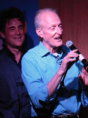 David Shire - Shire at Barnes & Noble, New York with vocalist Sal Viviano.