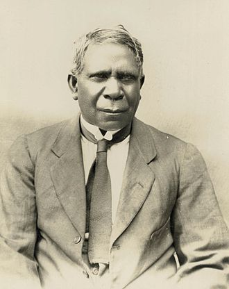 Ngarrindjeri - Inventor and writer David Unaipon was a Ngarrindjeri man