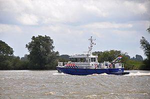 De P93 in de opvaart op de Beneden Merwede (04).JPG