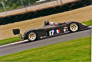 Debora LMP296 - The LMP296 at the Donington Park round of the International Sports Racing Series in 1997.